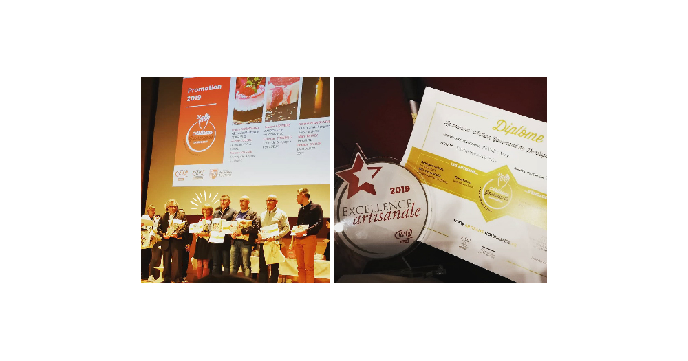 L'excellence de l'artisanat 2019 : Artisans Gourmands